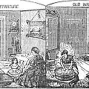 Steam Washer, 1872 Art Print
