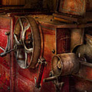 Steampunk - Gear - It Used To Work Art Print by Mike Savad