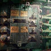 Steampunk - Naval - Electric - Lighting Control Panel Art Print