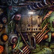 Steampunk - Naval - The Comm Station Art Print