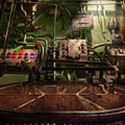 Steampunk - Naval - This Is Where I Do My Job Art Print