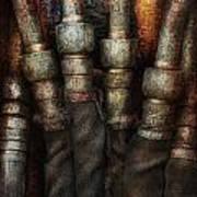 Steampunk - Pipes Art Print