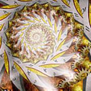 Steampunk - Spiral - Time Iris Art Print