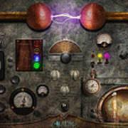 Steampunk - The Modulator Art Print