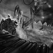 Steampunk Noir Art Print