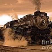Steamtown Engine 2317 Art Print
