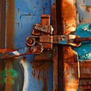 Steel Blues Art Print