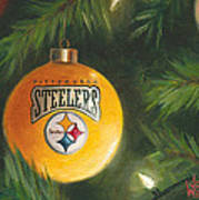 Steelers Ornament Art Print