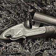 Stephen Grant And Sons Side Lever Twelve Bore - D003359-bw Art Print