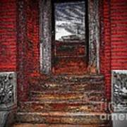 Steps To The Past Art Print