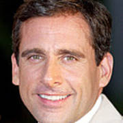 Steve Carell At Arrivals For The 40 Art Print