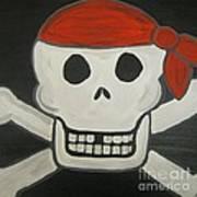 Steve The Pirate After Dark Art Print