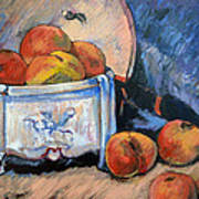 Still Life Peaches Art Print