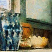 Still Life With Blue Jug Art Print