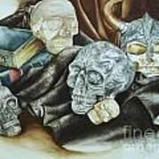 Still Life With Skulls Art Print