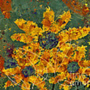 Stimuli Floral - S04ct01 Art Print by Variance Collections