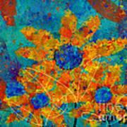 Stimuli Floral -s01t01 Art Print