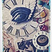 Stitch In Time Art Print