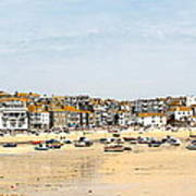 St.ives Bay.cornwall Art Print by Karen Grist