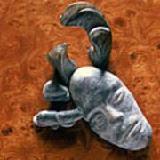 Stone Aged Spirit Art Print