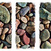 Stone Triptych 3 Art Print