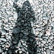Stoned Shadow Art Print