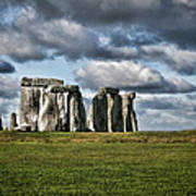 Stonehenge Landscape Art Print