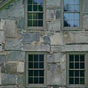 Stonehouse Windows Art Print