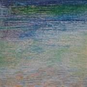 Stones By The Sea Art Print