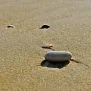 Stones In The Sand Art Print