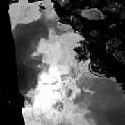 Stoney Reflections Art Print
