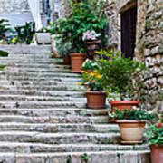 Stoney Stairs Art Print
