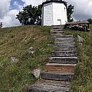Stony Point Lighthouse Stony Point Ny Art Print