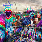 Storefront - Tie Dye Is Back  Art Print