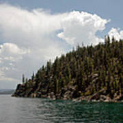 Storm Ahead Lake Tahoe Art Print