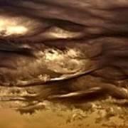 Storm Approaches Art Print