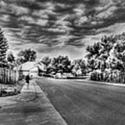 Storm Approaching Art Print by Sergio Aguayo