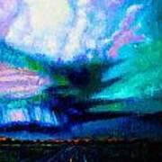Storm Chasing Art Print