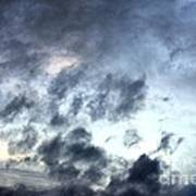 Storm Clouds At Dawn Art Print