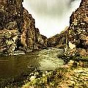 Storm On The Wind River Art Print