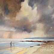 Storm Watchers Art Print by Pamela Pretty