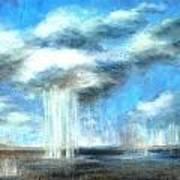 Storm's A Comin' Art Print