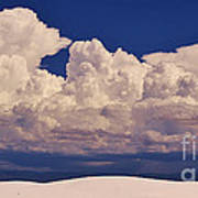 Storms Over The Mountains Art Print