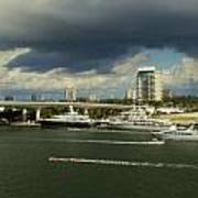 Stormy Fort Lauderdale Art Print