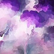 Stormy Purple Art Print