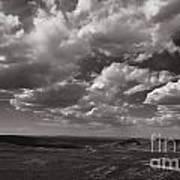 Stormy Wyoming Sky Art Print
