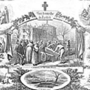 Story Of A Pauper, 1868 Art Print