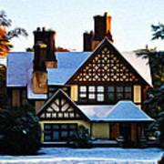 Storybook House Art Print
