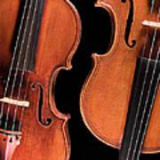 Stradivarius Violin And Maggini Viola Art Print