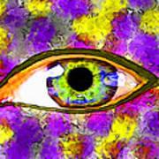 Strange Eye II Art Print